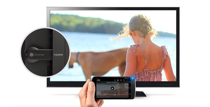 Chromecast en action