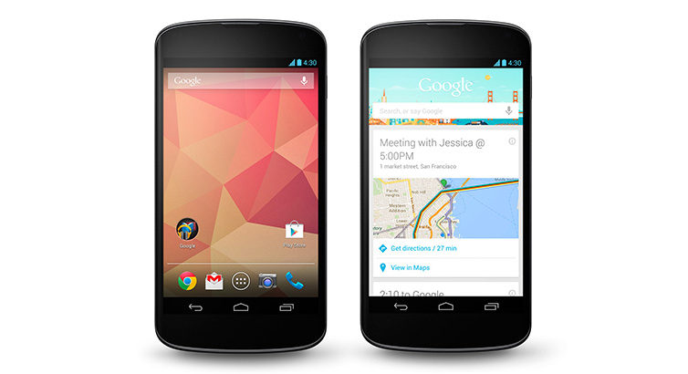 Le Nexus 4 de Google en rupture de stock