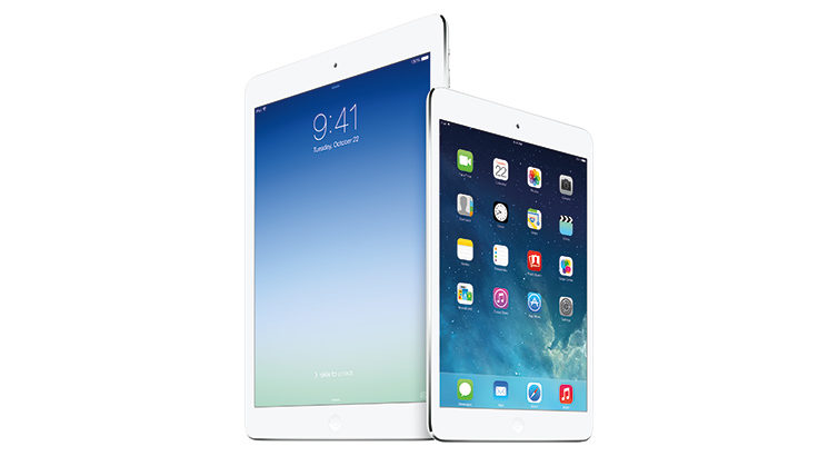 L'iPad Air, premier appareil mobile international