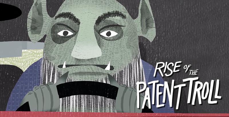 Il est bon ton ici de vous recommandez l'excellent documentaire Rise of the Patent Troll.