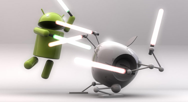 Android vs. iOS : Je lance la serviette