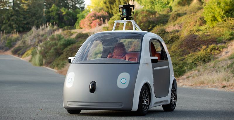 La voiture autonome de Google (Photo: Google).