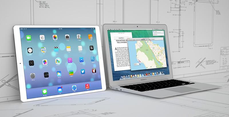 Concept de l'iPadPro par MacRumors.