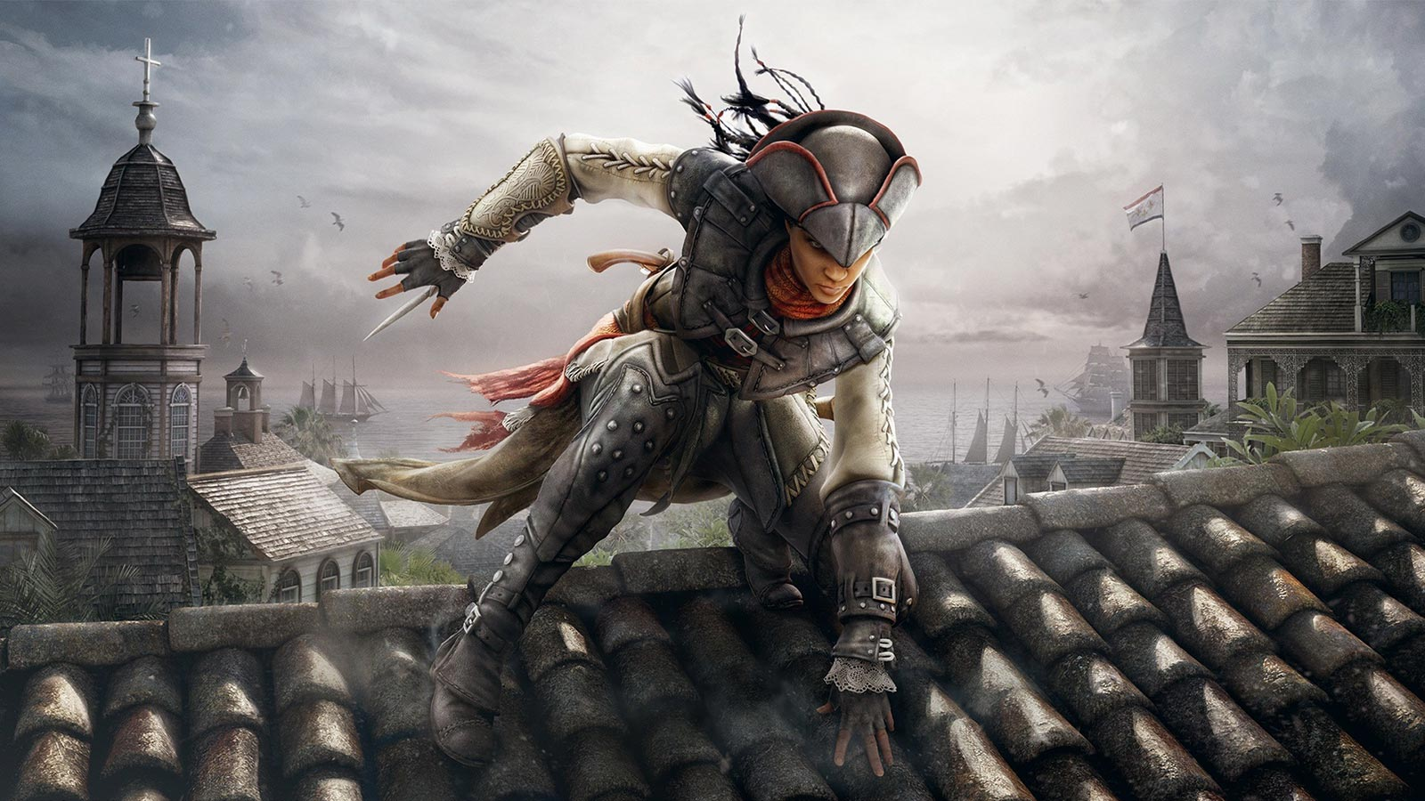 Assassin's Creed III: Liberation mettait en vedette une femme dans le rôle du protagoniste