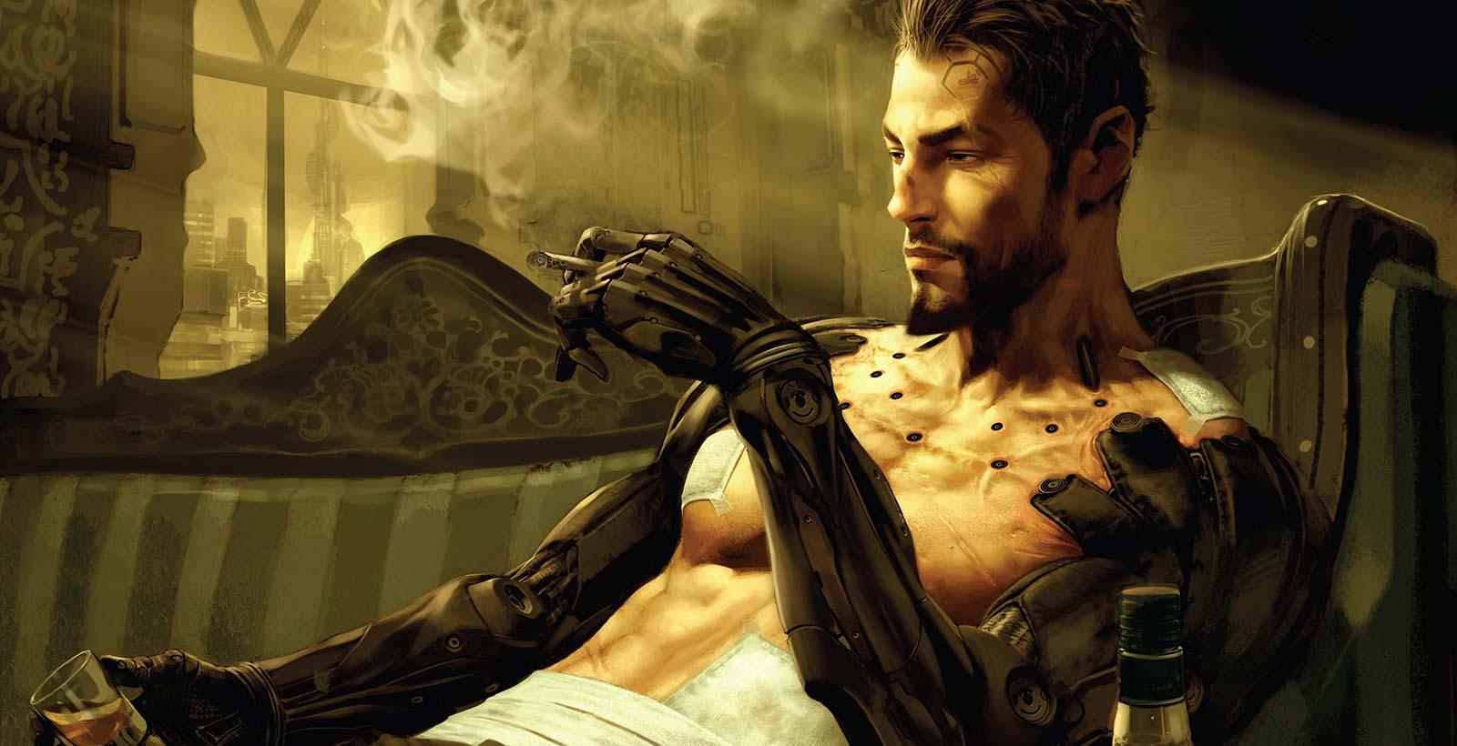 Le jeu Deus Ex: Human Revolution explore l'idéologie transhumanisme