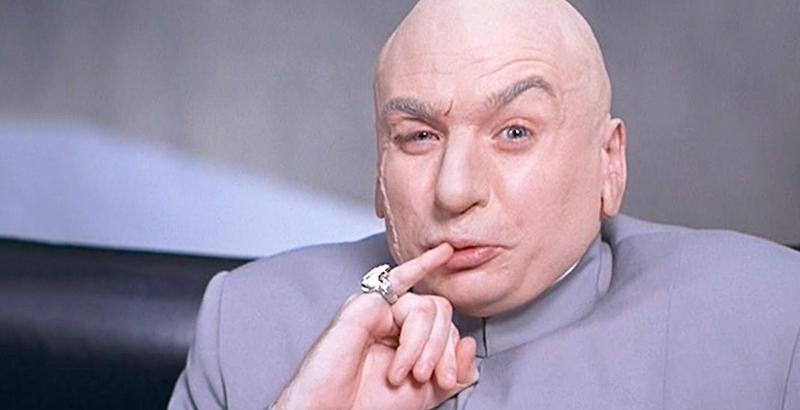 Dr. Evil, principal antagoniste de la série Austin Powers (Image: NewLineCinema).