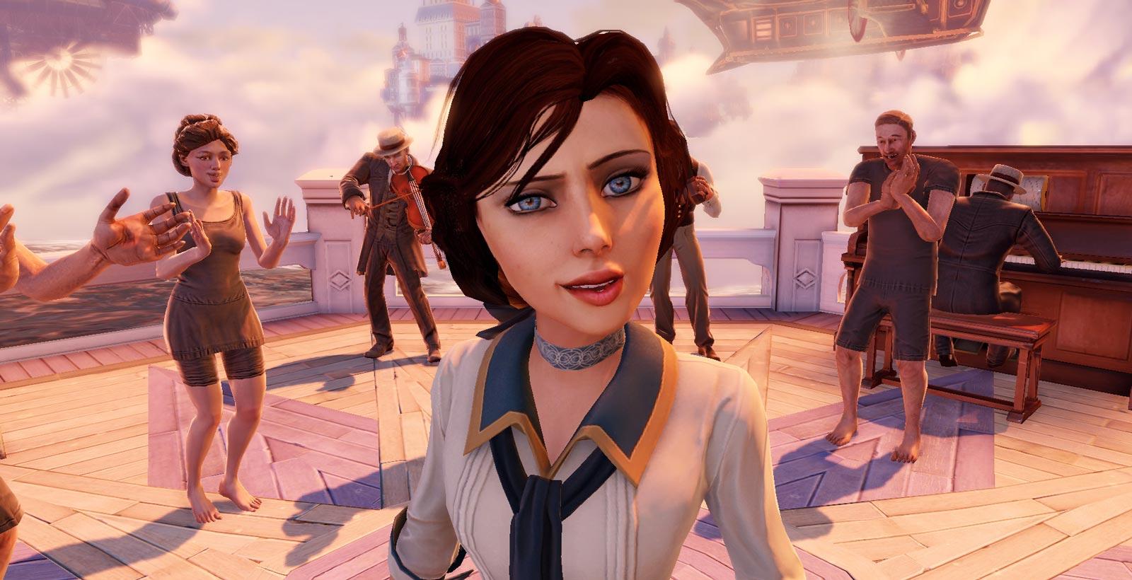 Elizabeth, tirée du jeu BioShockInfinite.