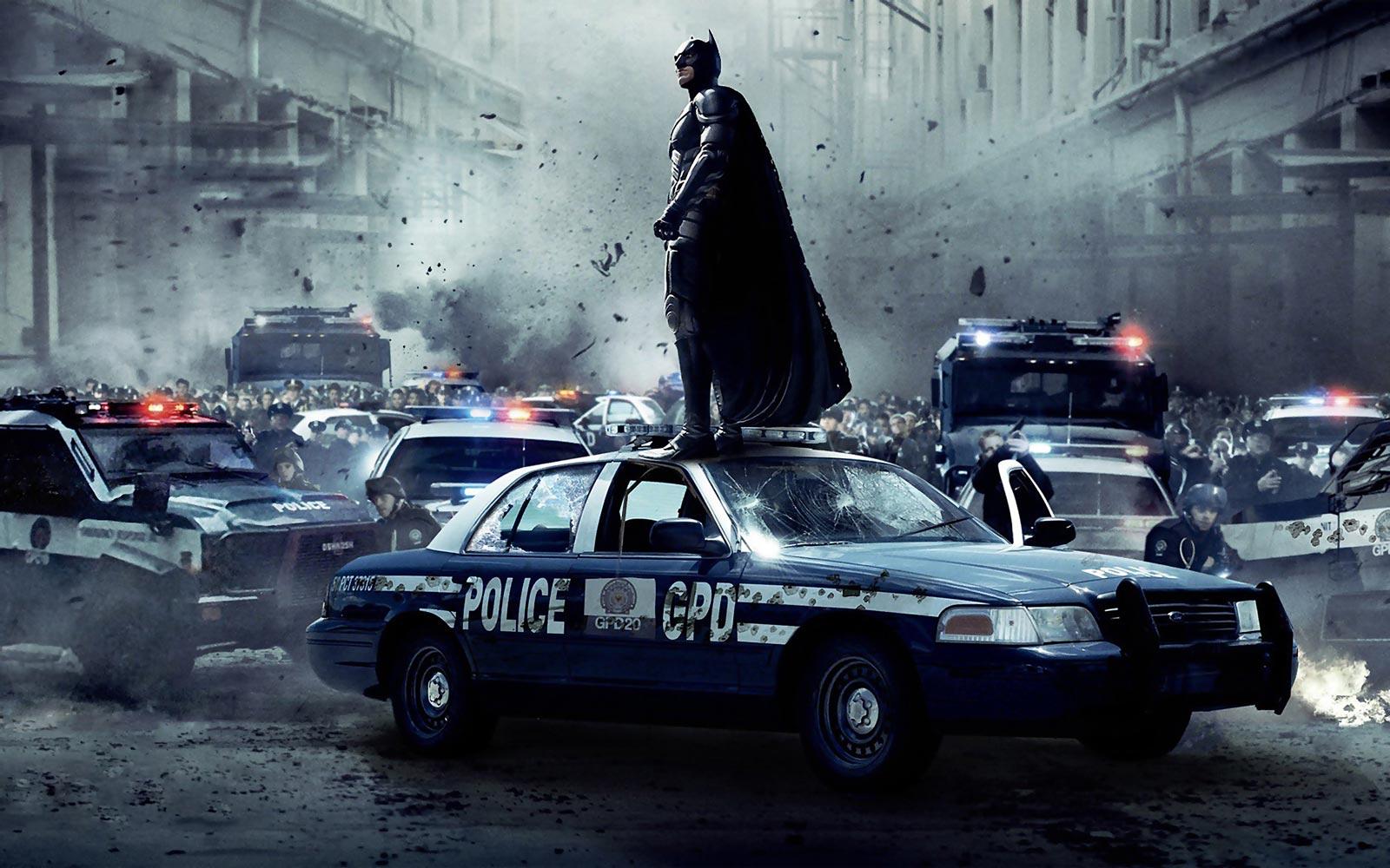 Image tirée du film The Dark Knight Rises (Photo : Warner Bros).