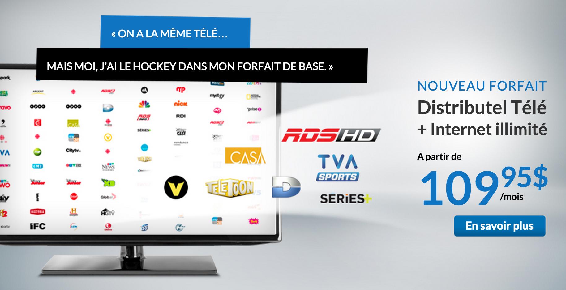 Television Distributel Fait Desormais Concurrence A Bell Et Videotron Branchez Vous
