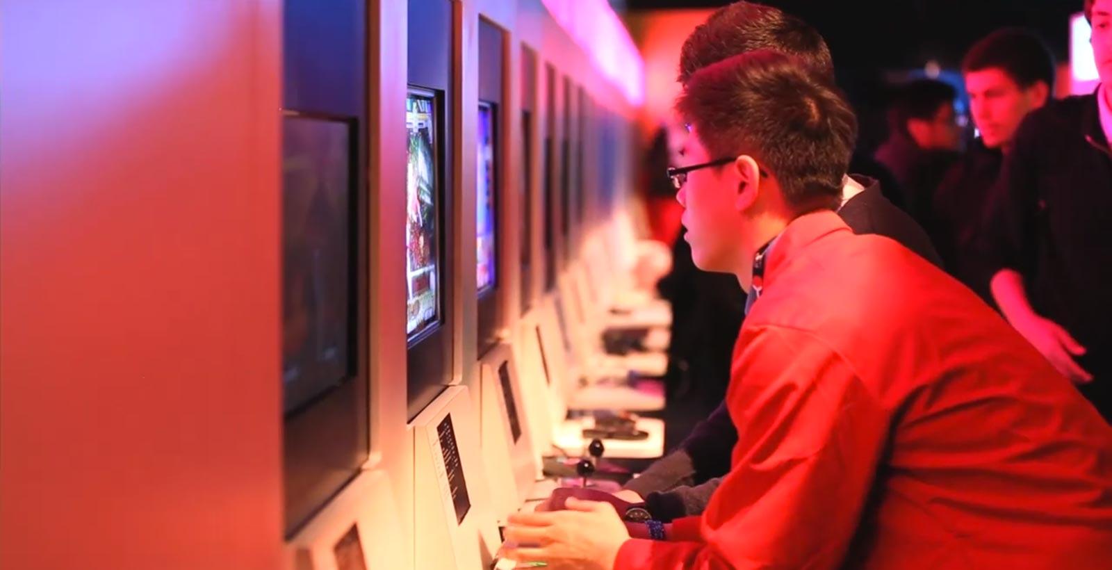 Un aperçu de l'exposition Game On 2.0 de Toronto.