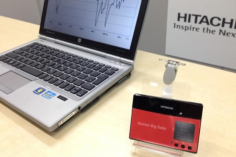 La technologie Human Big Data présentée par Hitachi.
