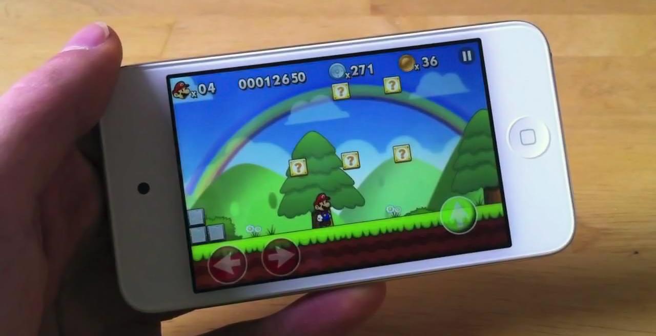 Nintendo officiellement sur android et iOS? Marioios