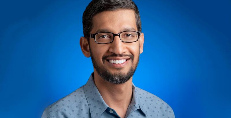 Le nouveau PDG de Google, Sundar Pichai.
