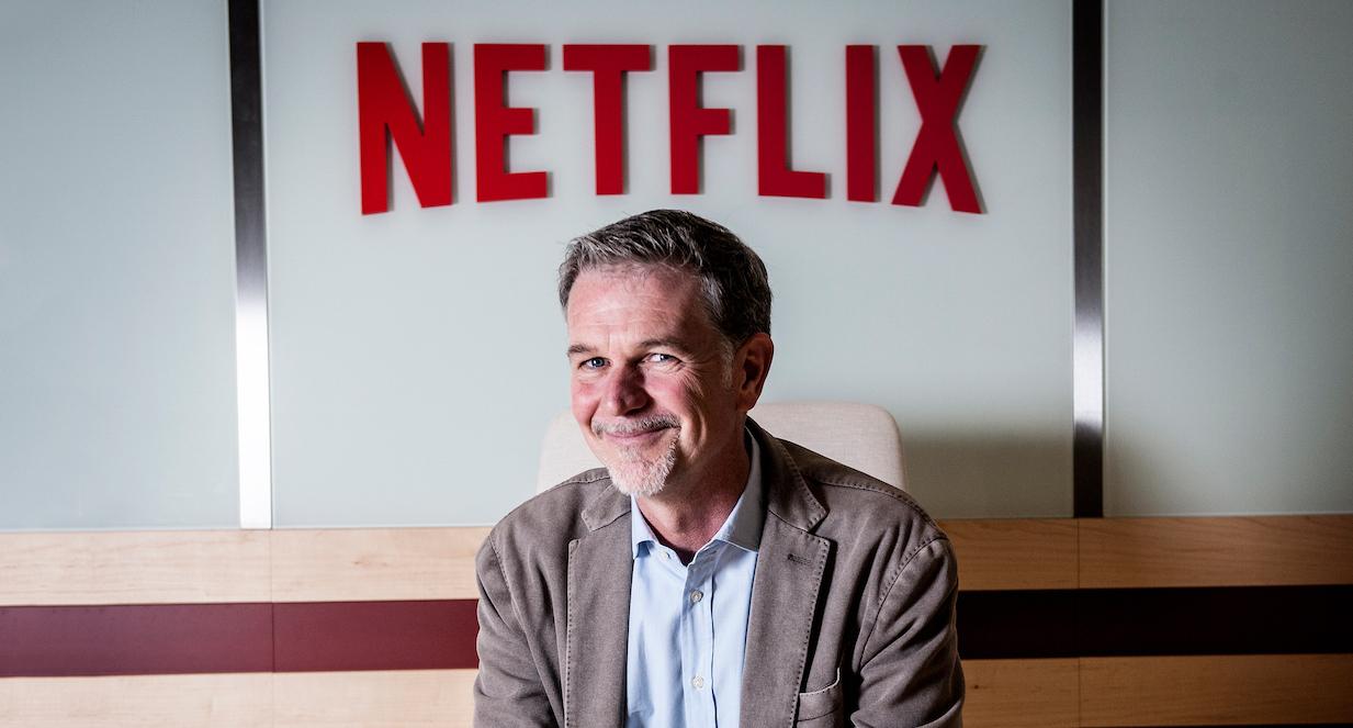 Le PDG de Netflix, Reed Hastings (Image : Gizmodo).