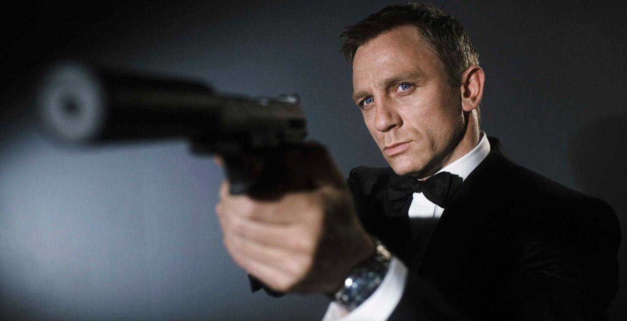 Daniel Craig, dans le rôle de James Bond, l'agent 007 (Image : Columbia Pictures).