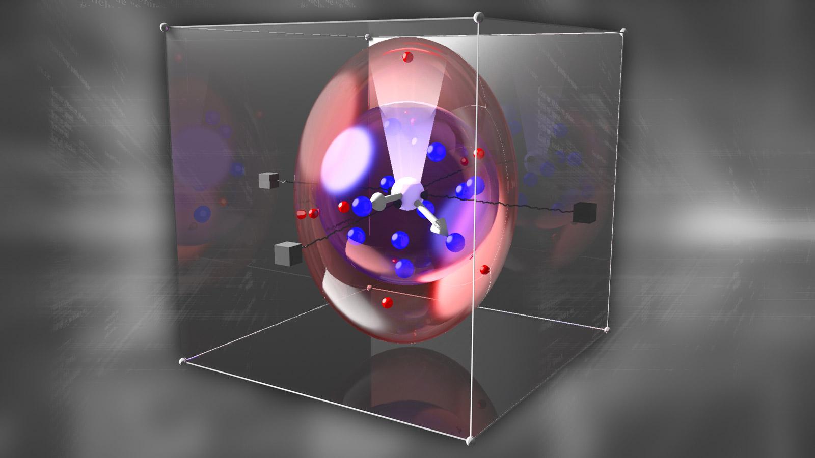 Une représentation d'un logiciel conçu pour s'adapter aux changements  d'un écosystème informatique opérationnel (Image : DARPA).