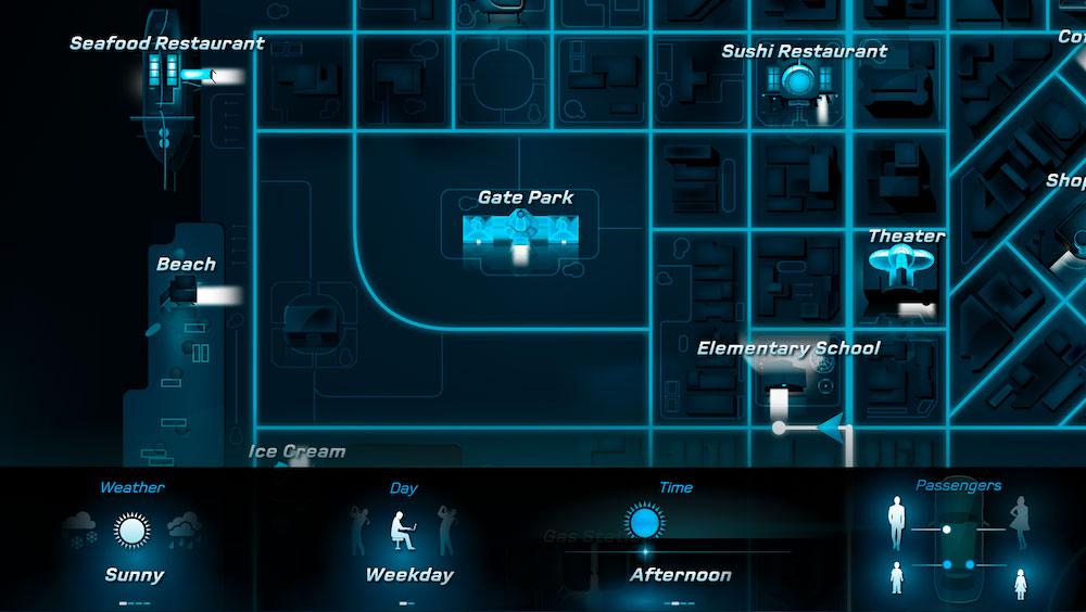 Un aperçu du concept de Predictive User Experience sur lequel travaille Mercedes-Benz.