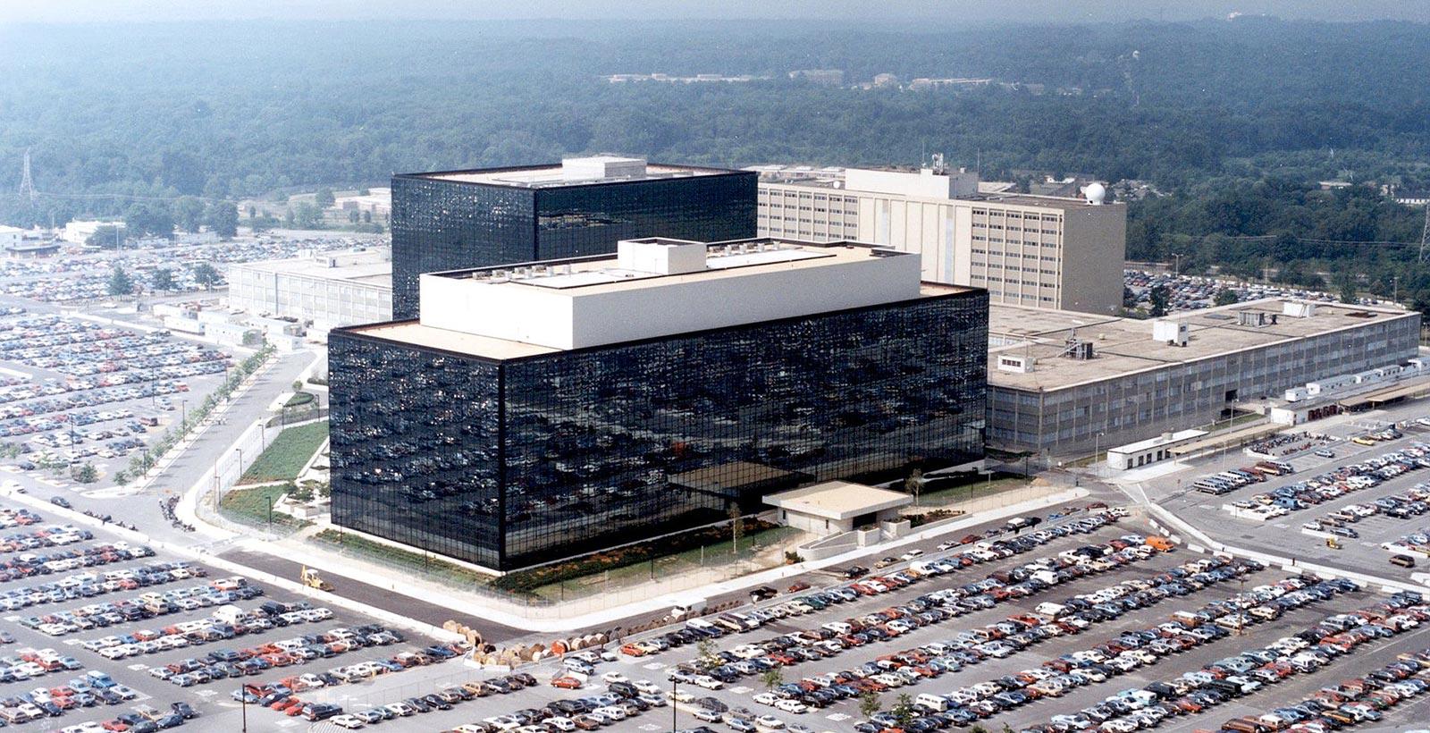 Le siège social de la NSA, situé dans l'état du Maryland.