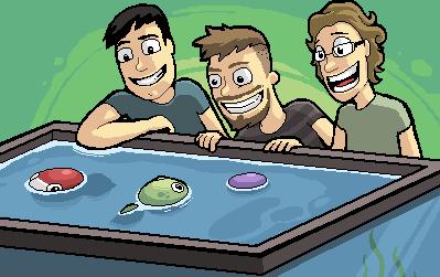 L'équipe de Outerminds, reconstituée en pixel art (Image : Outerminds).