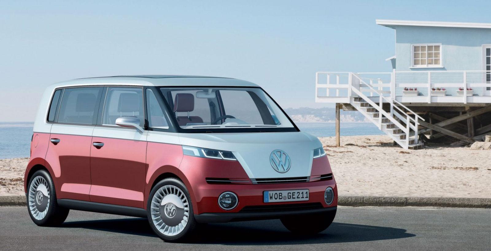 Le concept de Bulli par Volkswagen en 2011.
