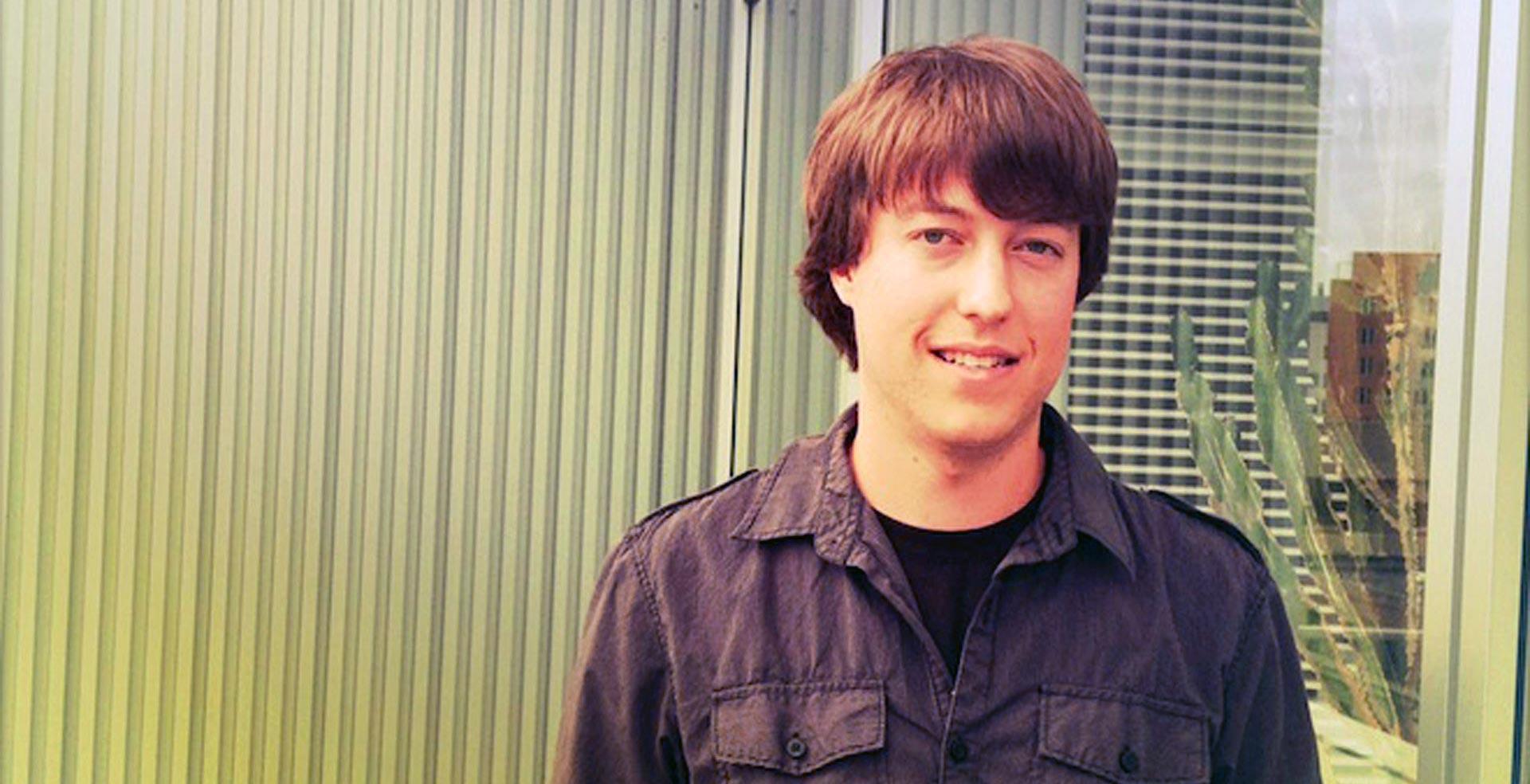 Greg Marra, l'ingénieur responsable de l'algorithme Facebook (Image : Wired).