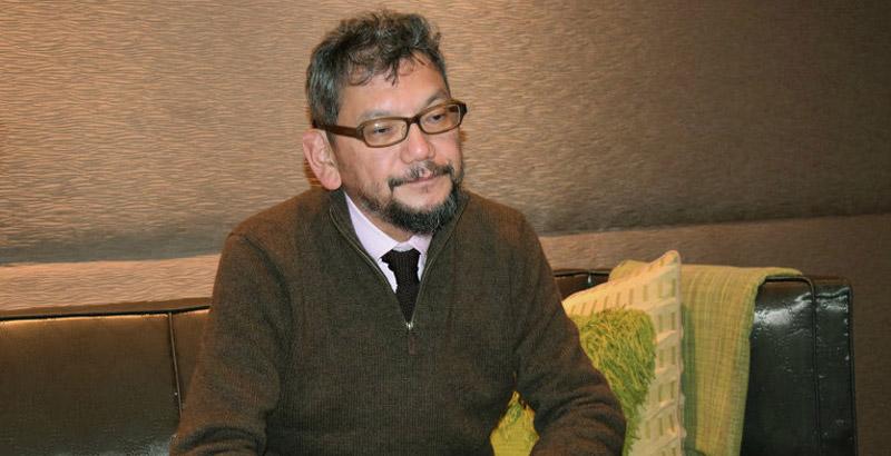 Hideaki Anno, créateur de la série Neon Genesis Evangelion (Image : RIA Novosti).