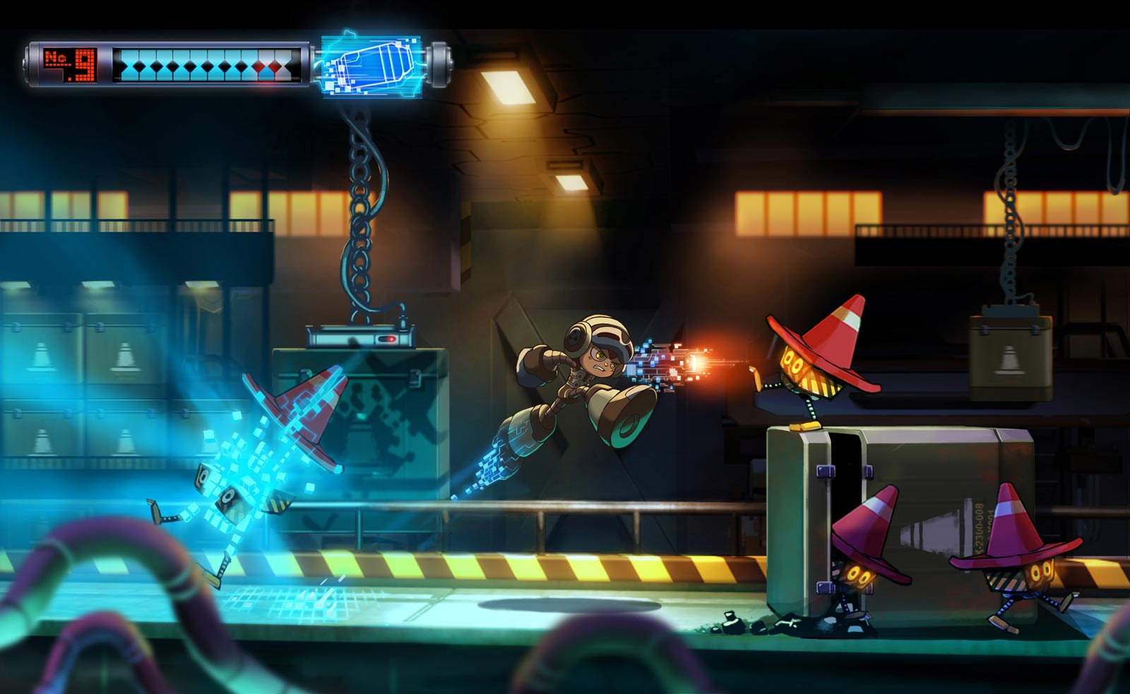 Un aperçu de Mighty No. 9.