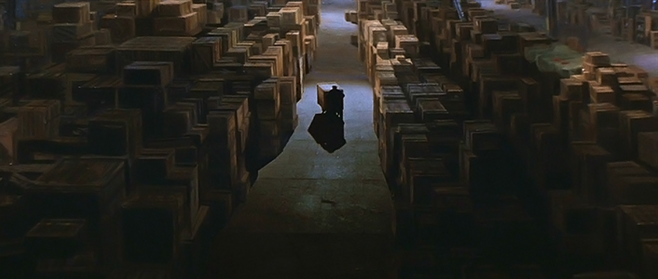 La scène finale du film Raiders of the Lost Ark semble appropriée ici (Image : Lucasfilm).