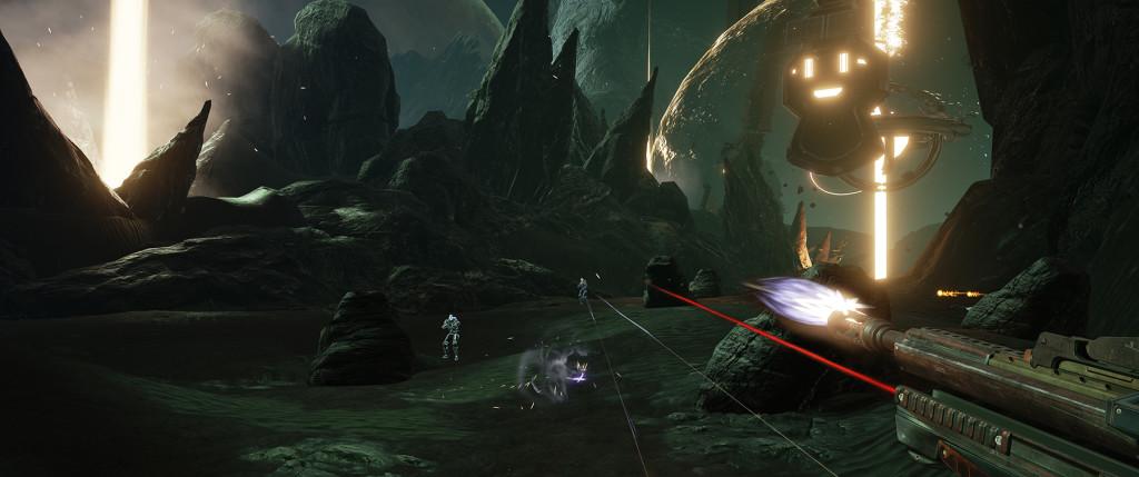 Un aperçu du prototype de jeu de tir en vision subjective de ImpulseGear (Image : Sony).
