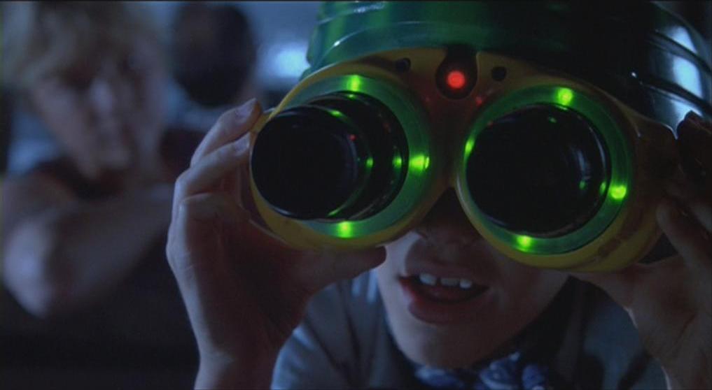 Le personnage de Tim Murphy et ses lunettes, tiré du film Jurassic Park (Image : Universal Pictures).