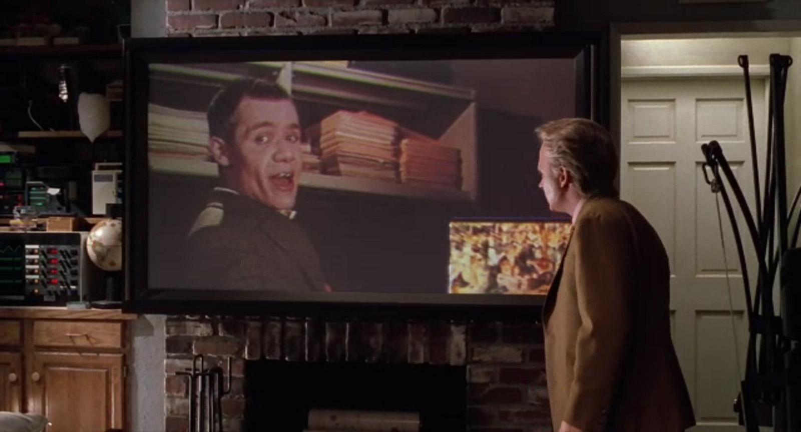 La conversation entre Marty de 2015 et Needles (Image : Universal Pictures).