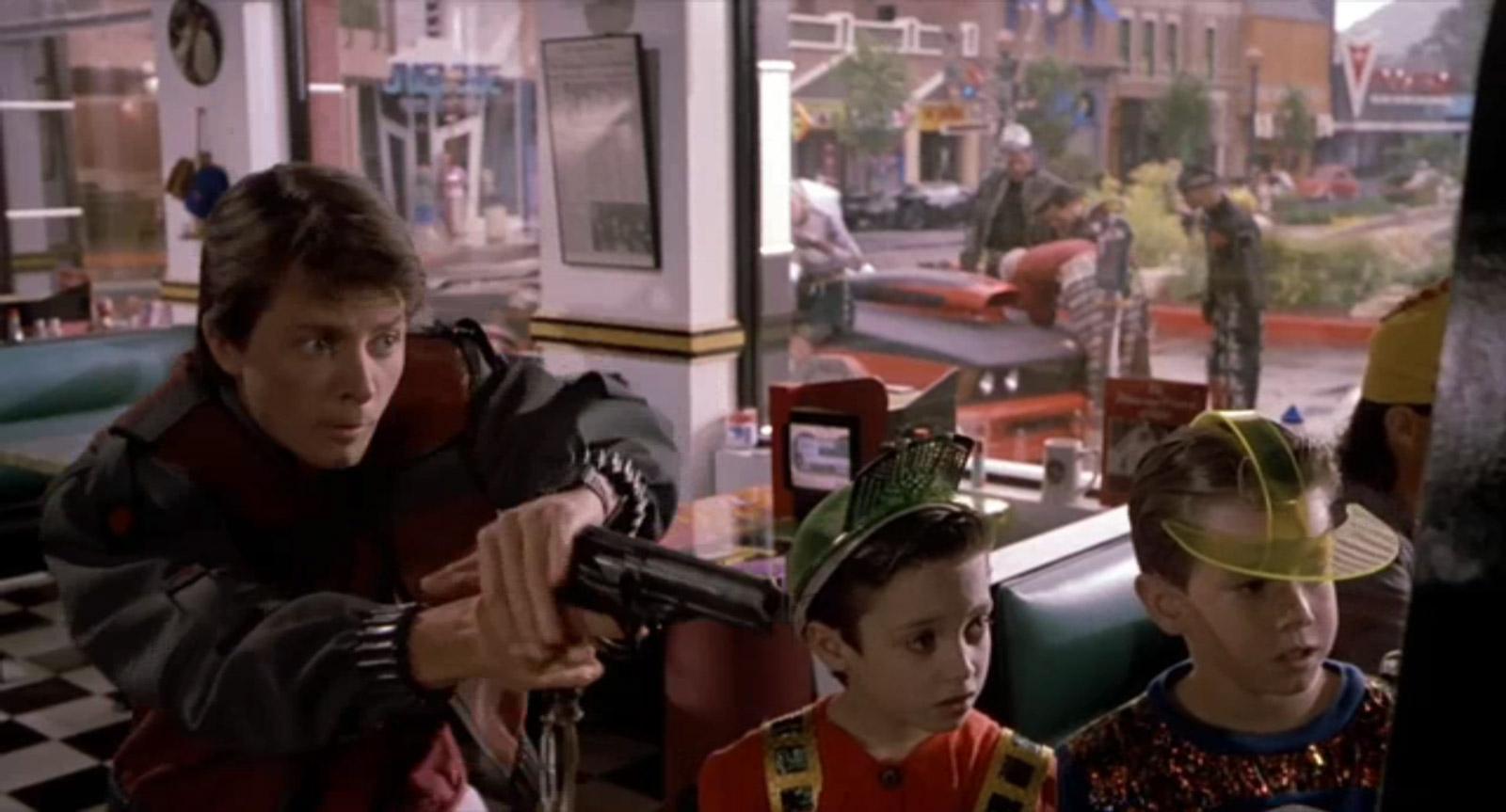 Marty, un crack shot à Wild Gunman (Image: Universal Pictures).