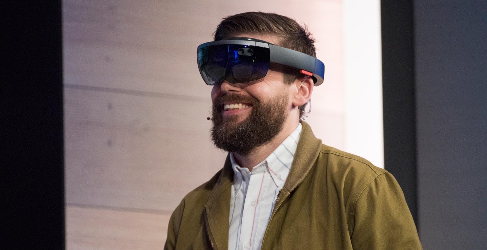 Les HoloLens de Microsoft (Image : The Telegraph).