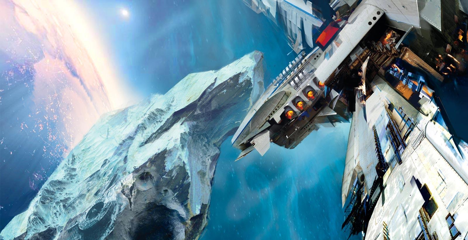 La couverture de Leviathan War (Image : Daniel Dociu).