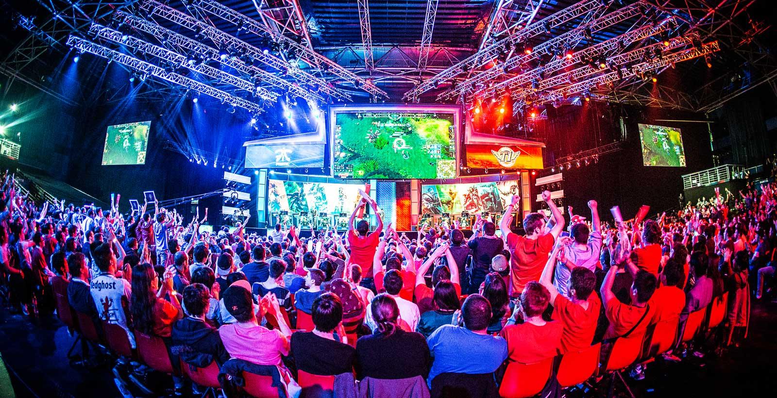 Tournoi du jeu League of Legends disputé à Paris en mai dernier (Photo : Helena Kristiansson).