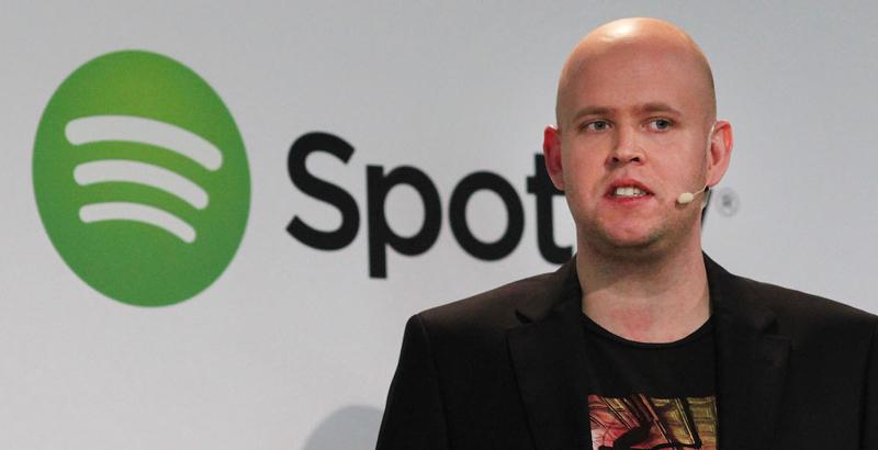 Daniel Ek, PDG de Spotify.