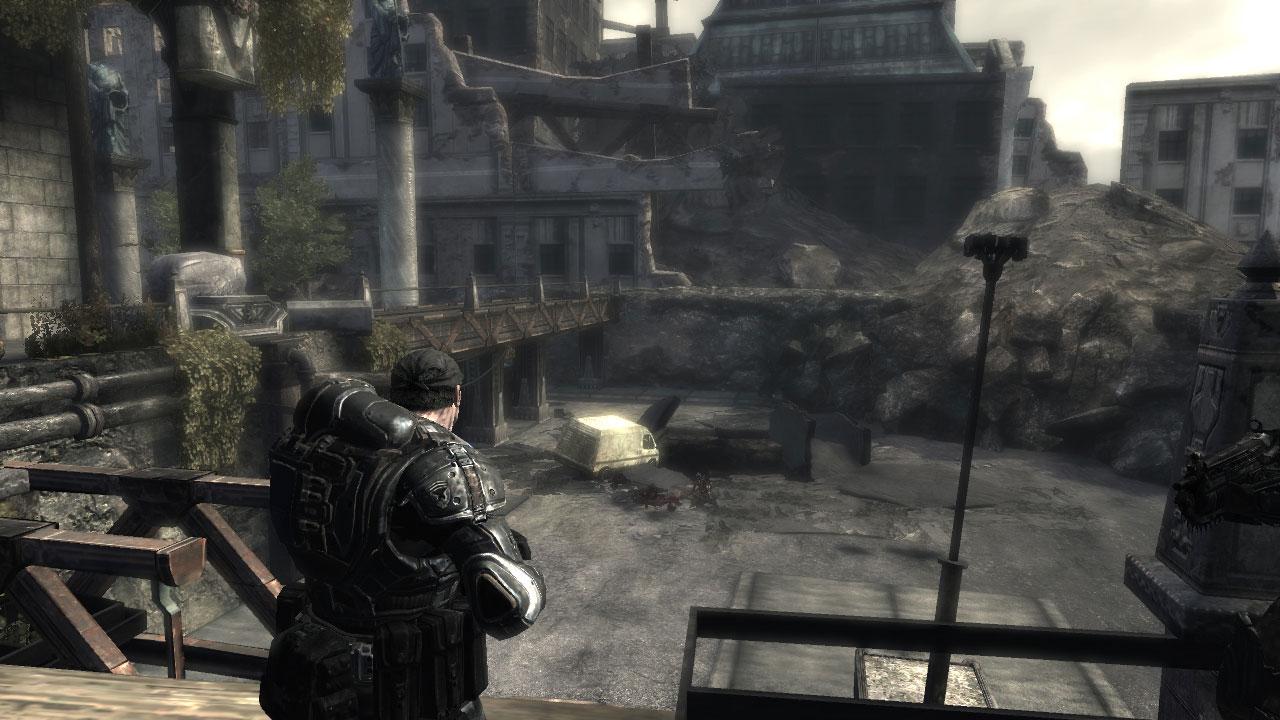 Gears of War sur Xbox360.