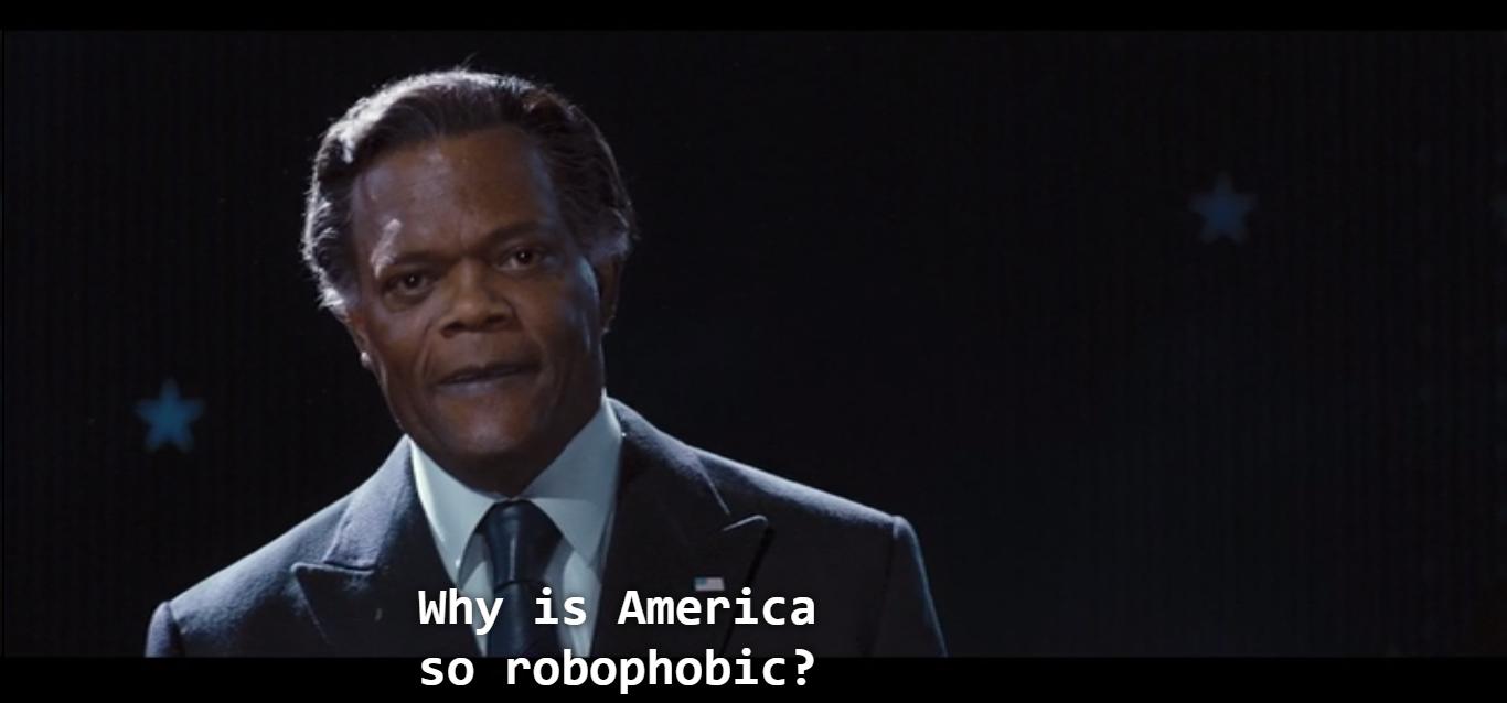 Parce que ça commence comme ça. On donne aux robots le droit de se marier, puis ça va être un robot qui va vouloir marier un cheval, et la société va aller chez le yâbe.