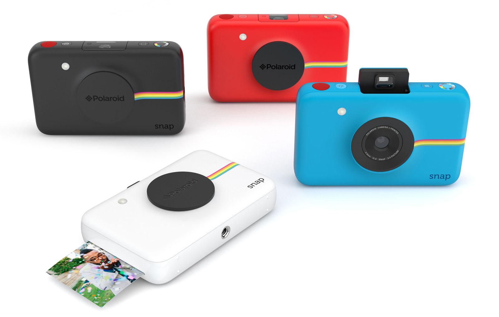Le Snap de Polaroid sera offert en quatre variétés de couleurs.