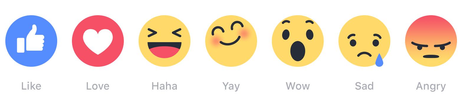 Voici comment seront présentées les nouvelles interactions sur Facebook.