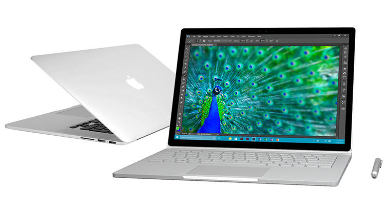 Surface Book vs. MacBook Pro : L'ultime confrontation
