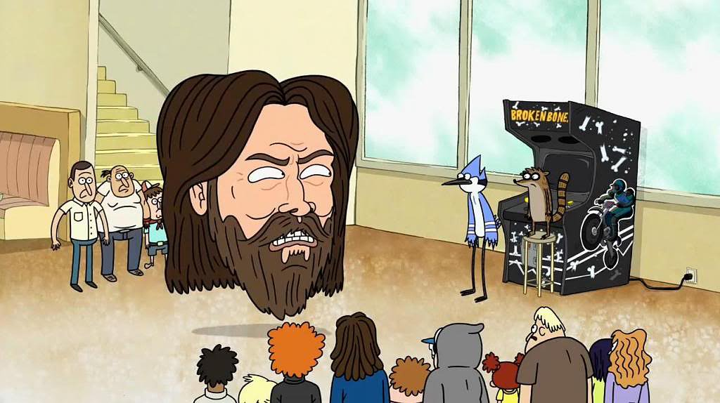 Garret Bobby Ferguson, le personnage inspiré de Billy Mitchell (Image : Cartoon Network).