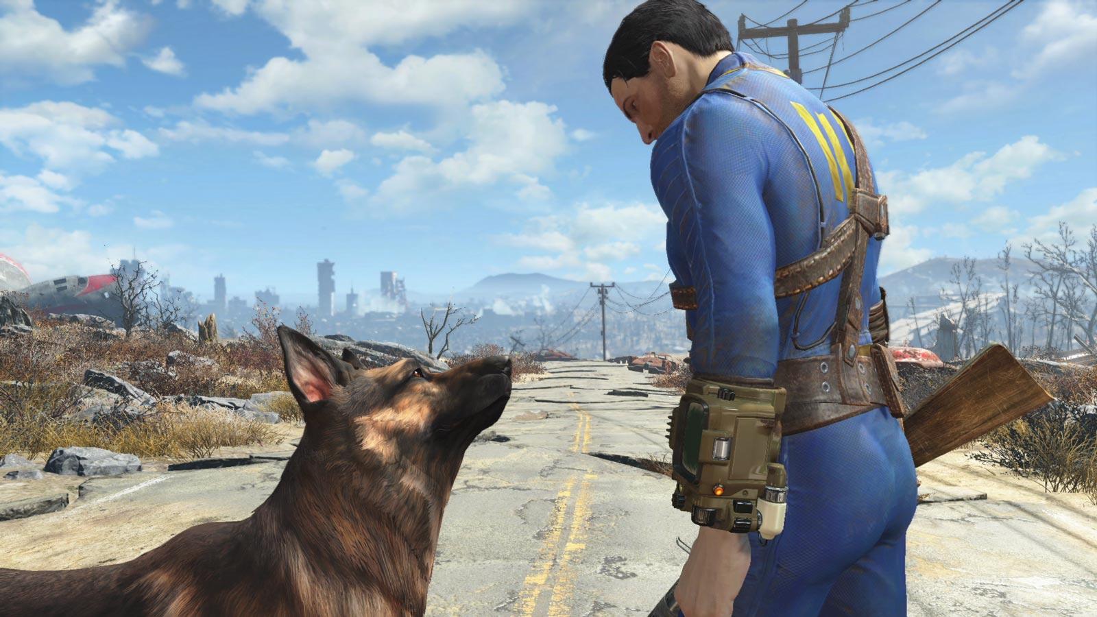 Un aperçu de Fallout4, le plus récent succès de Bethesda.