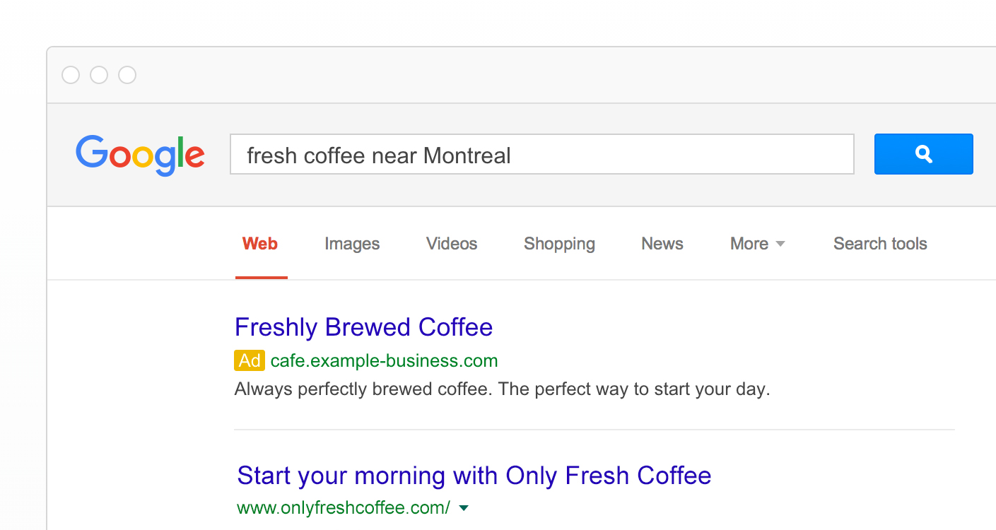 Un aperçu des AdWords de Google.