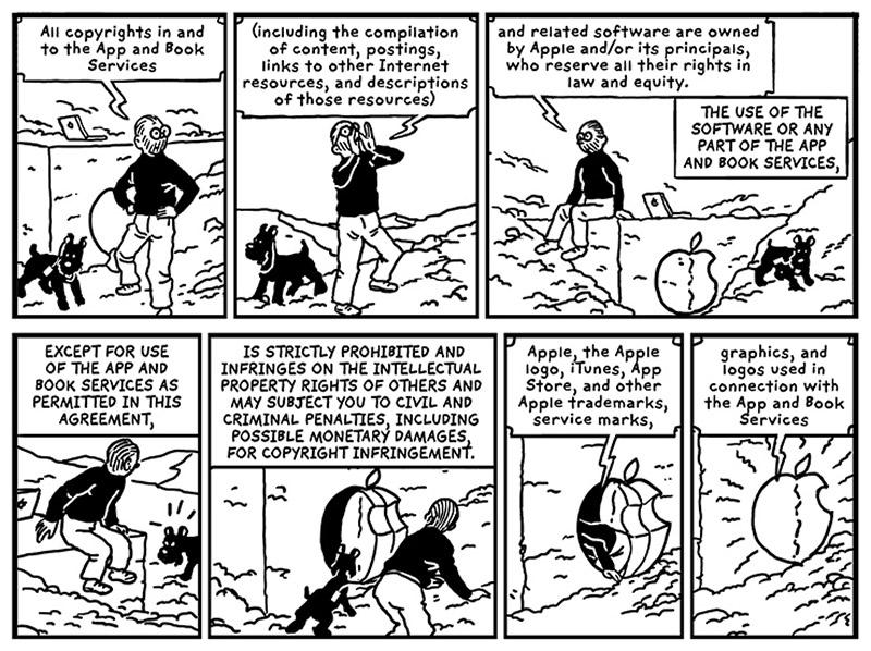 Quand Tintin se prend pour Steve Jobs (ou le contraire).