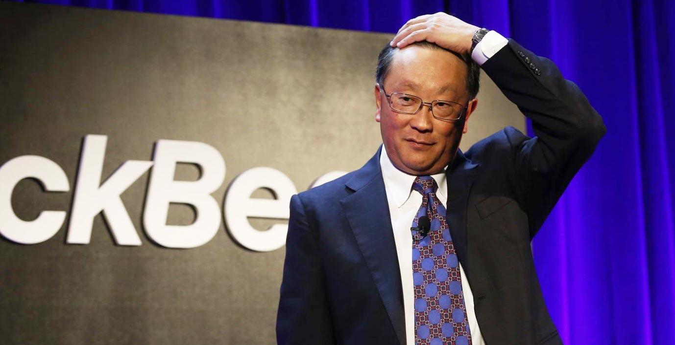 John Chen, PDG de BlackBerry (Photo: Reuters).
