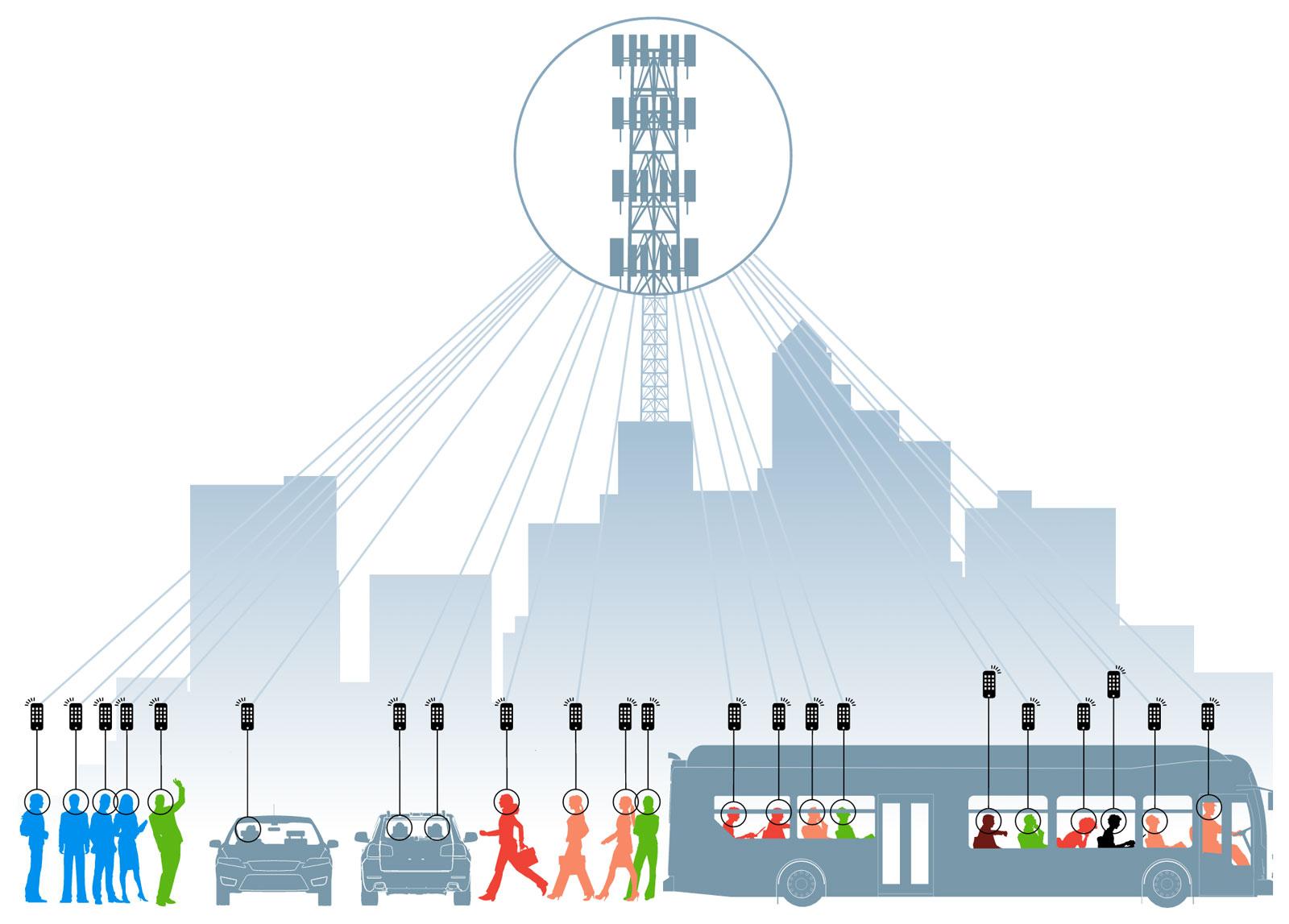 Un schéma illustrant la surveillance de masse effectuée par la NSA (Image: Washington Post).