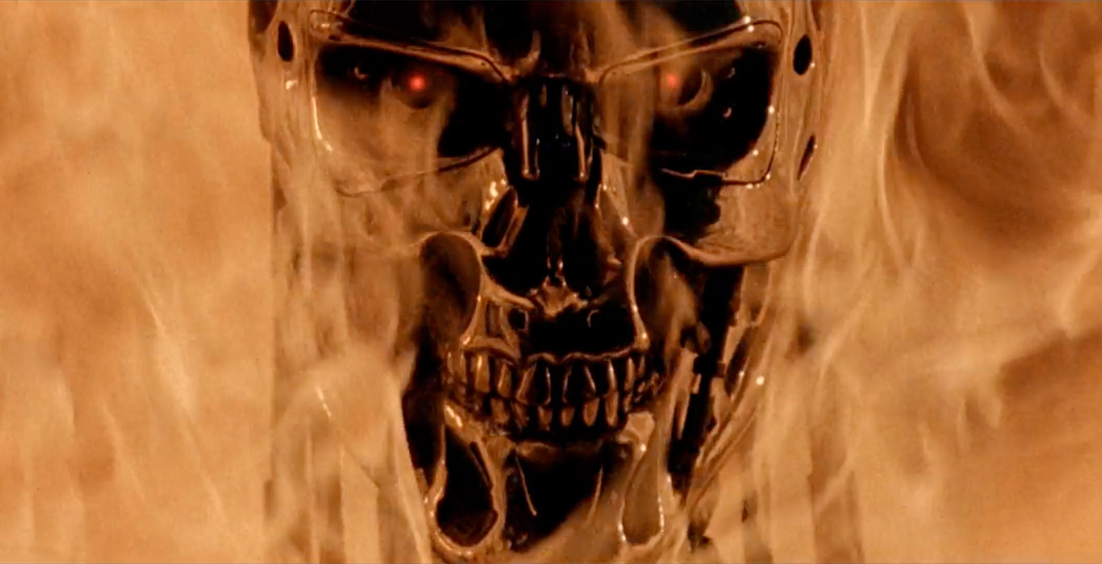 La terrifiante introduction du film Terminator 2: Judgment Day (Image : Tri-Star Pictures).
