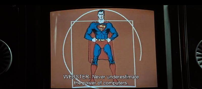 «Ne jamais sous-estimer le pouvoir des ordinateurs.»