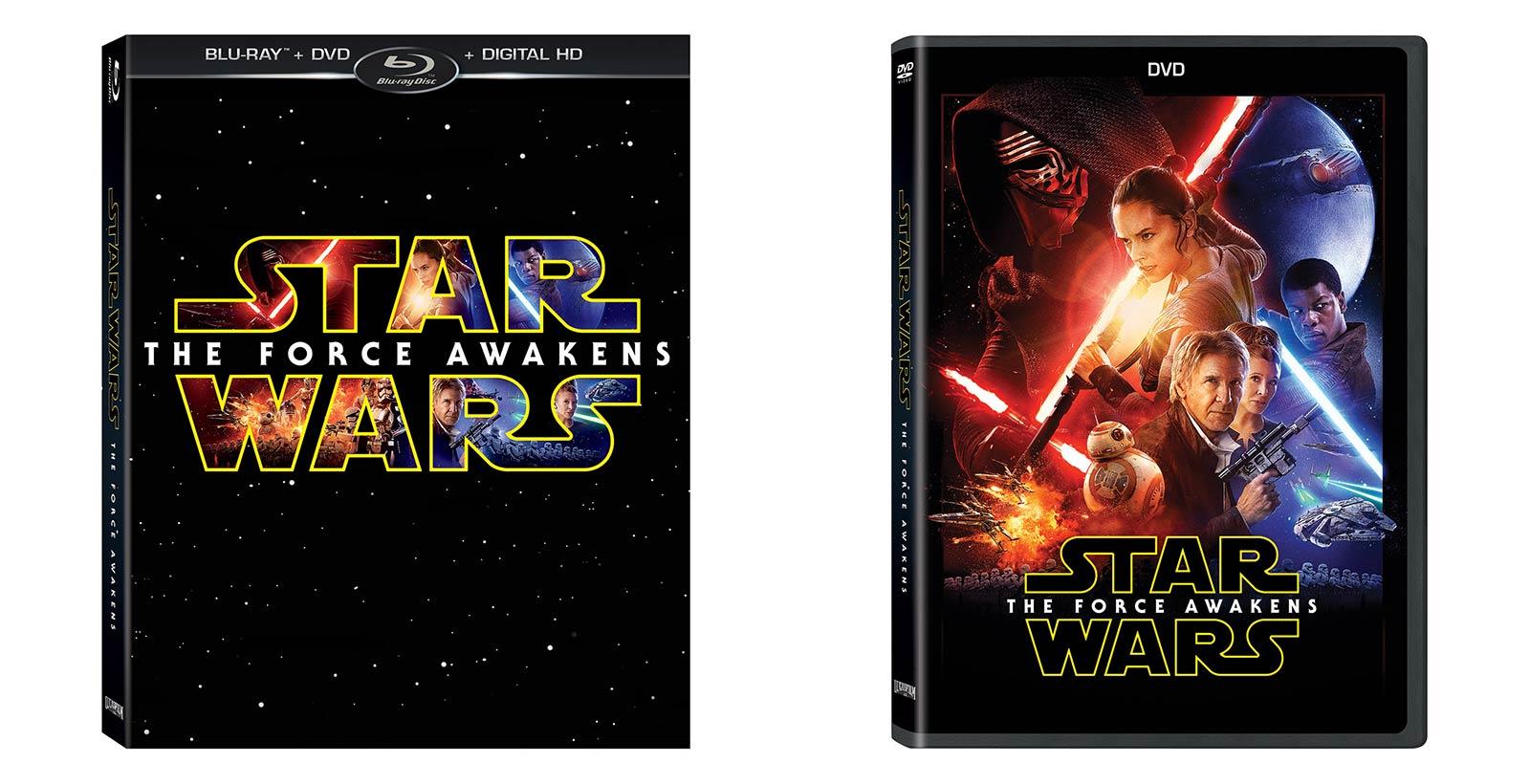 L'édition régulière du combo pack (YARKE) et du DVD seul.